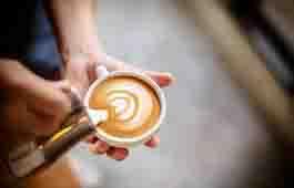 l'art du café latte