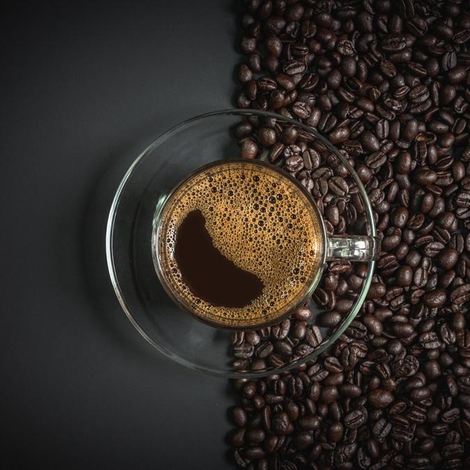 café italien+ grains de café