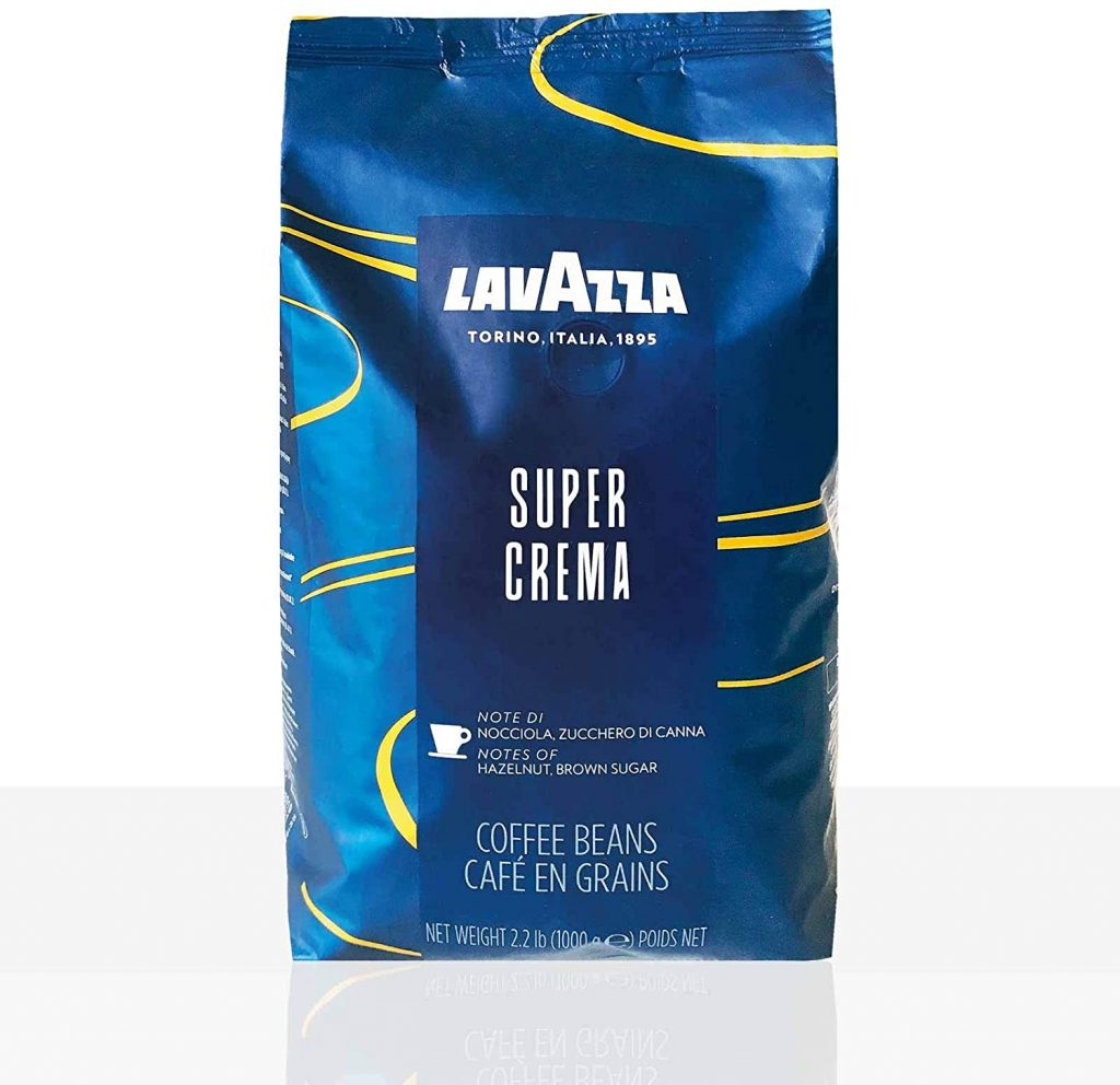 Lavazza Espresso Super Crema café en grains