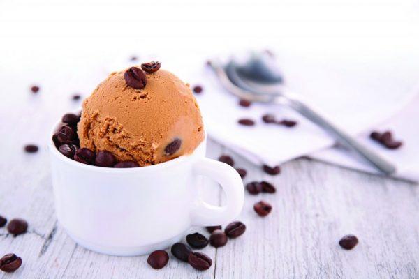 boule de glace de café